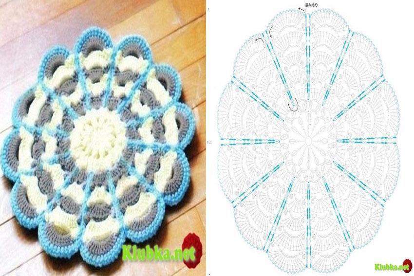 agarradera | Crochet patrones | Pinterest | Croché, Ganchillo y ...