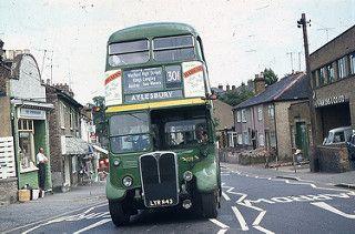 London Country Rf221 Mll608 From Dartford Garage At