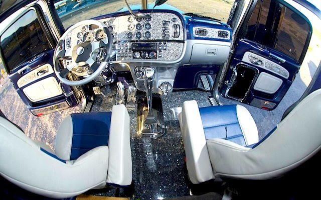 10 Best Custom Big Rig Interiors Big Rig Trucks Truck Interior