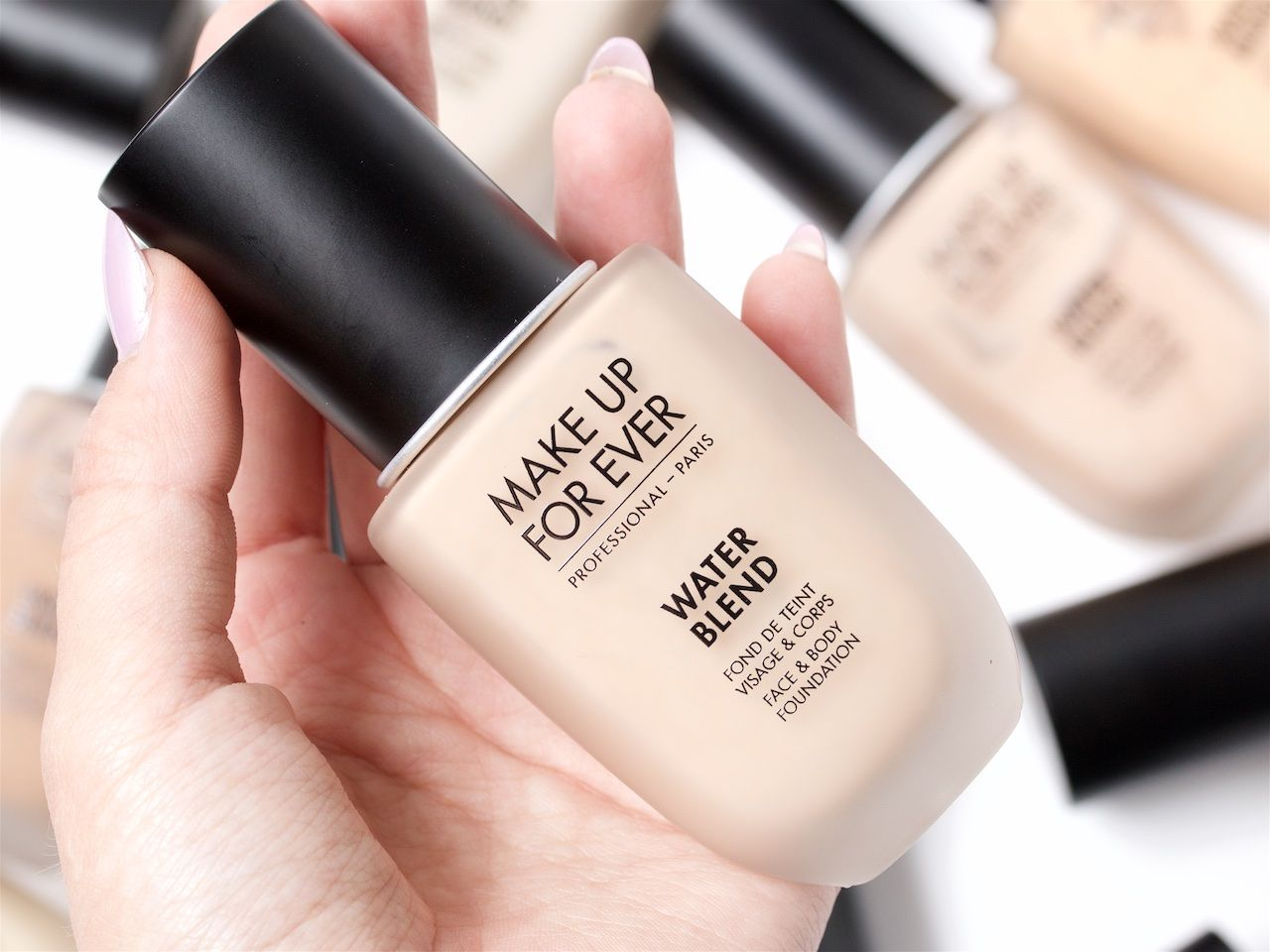 Make Up For Ever Water Blend Foundation Review Makeup