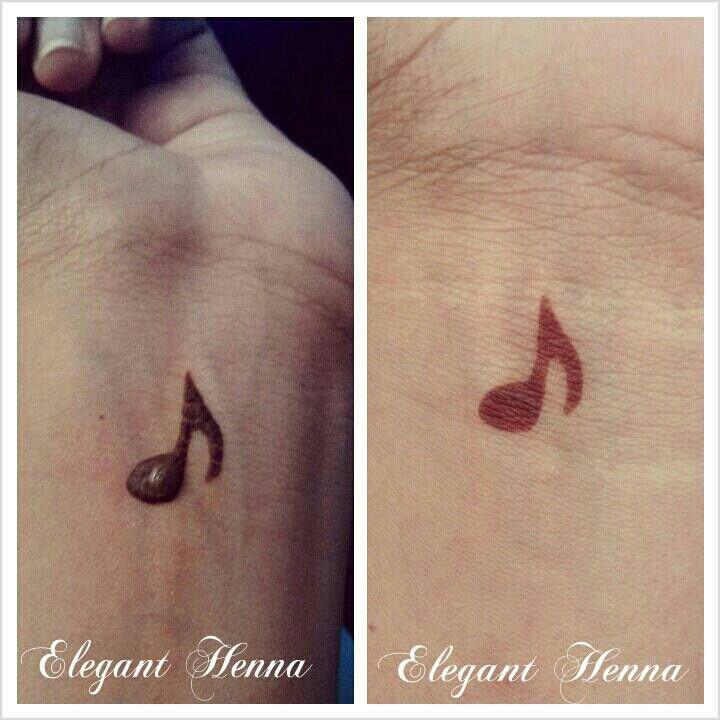 simple henna musicnote
