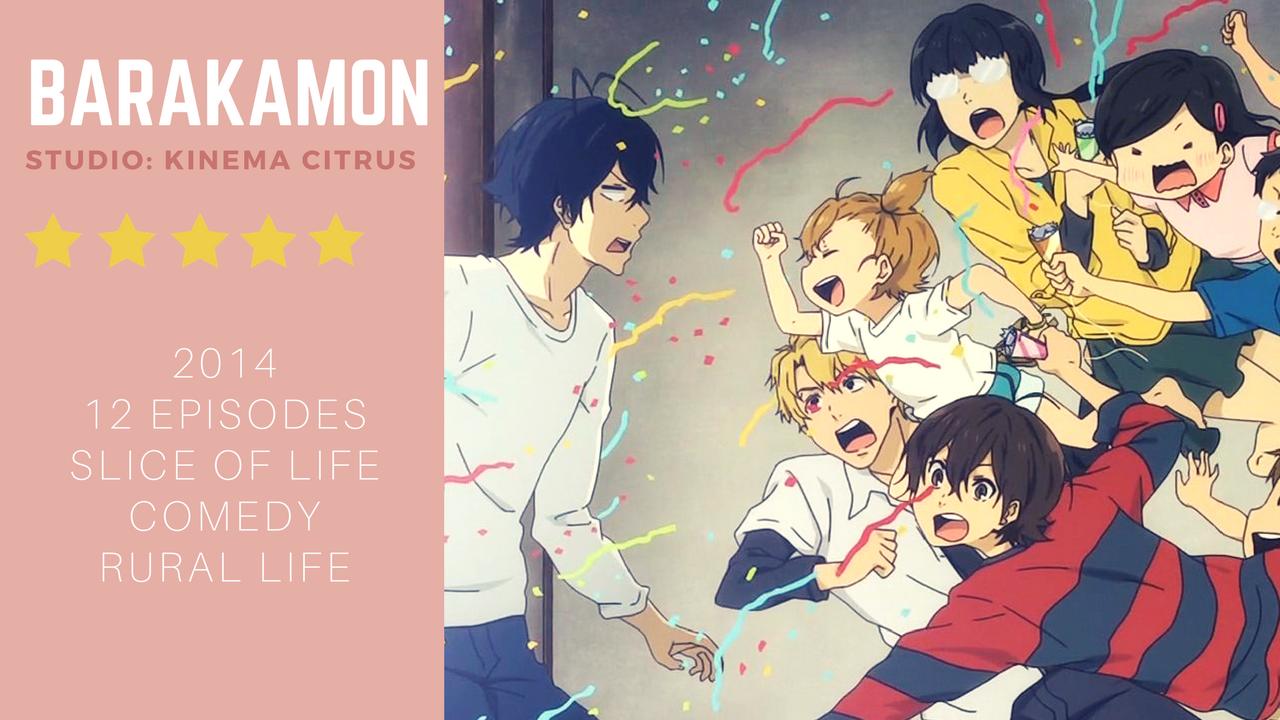 Anime Review Barakamon (2014) Anime reviews, Anime