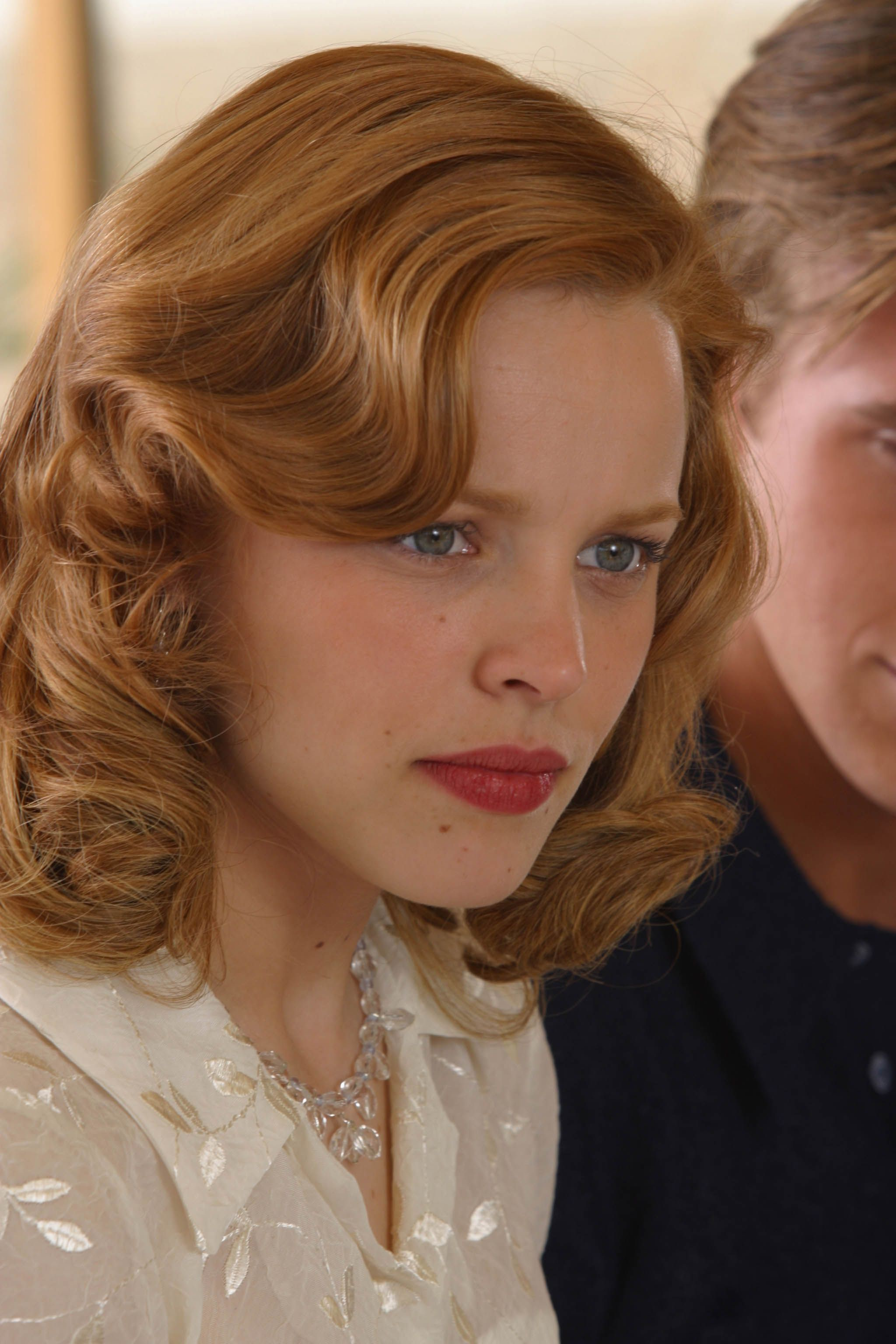 awesome hair styles and its red woo hoo rachel mcadams