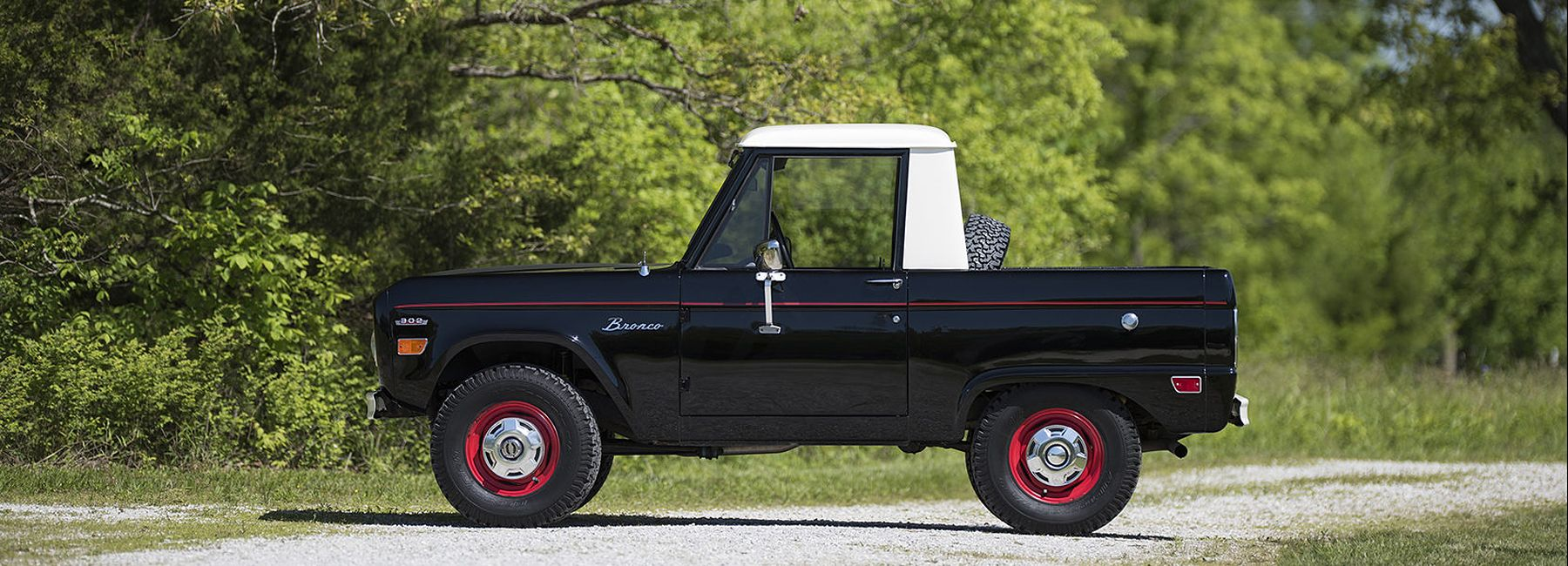 The Ford Bronco U14 Half Cab Pick Up Truck Ford Bronco Bronco Ford