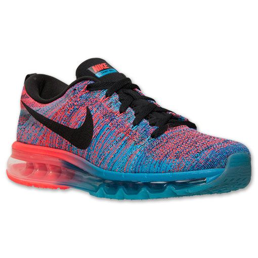 Men's Nike Flyknit Air Max Running Shoes - 620469 401 | Finish Line | Blue  Lagoon