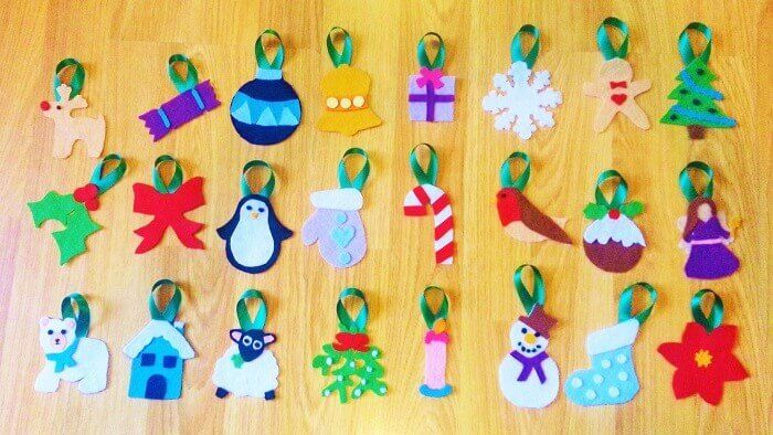 How To Sew A Large Christmas Advent Calendar