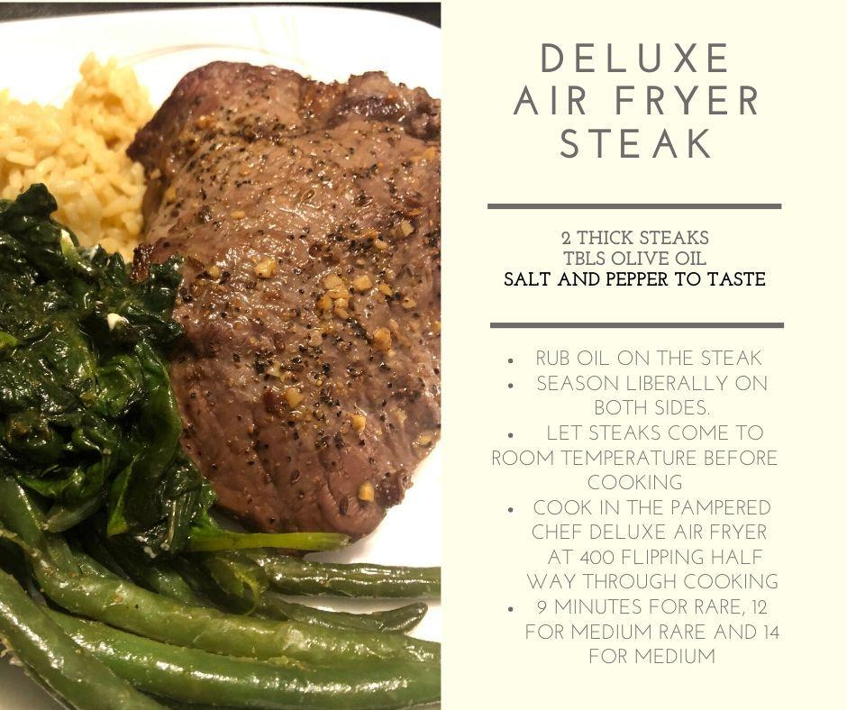 Air Fryer Steak Air Fryer Recipes Healthy Air Fryer Dinner Recipes Air Fryer Steak