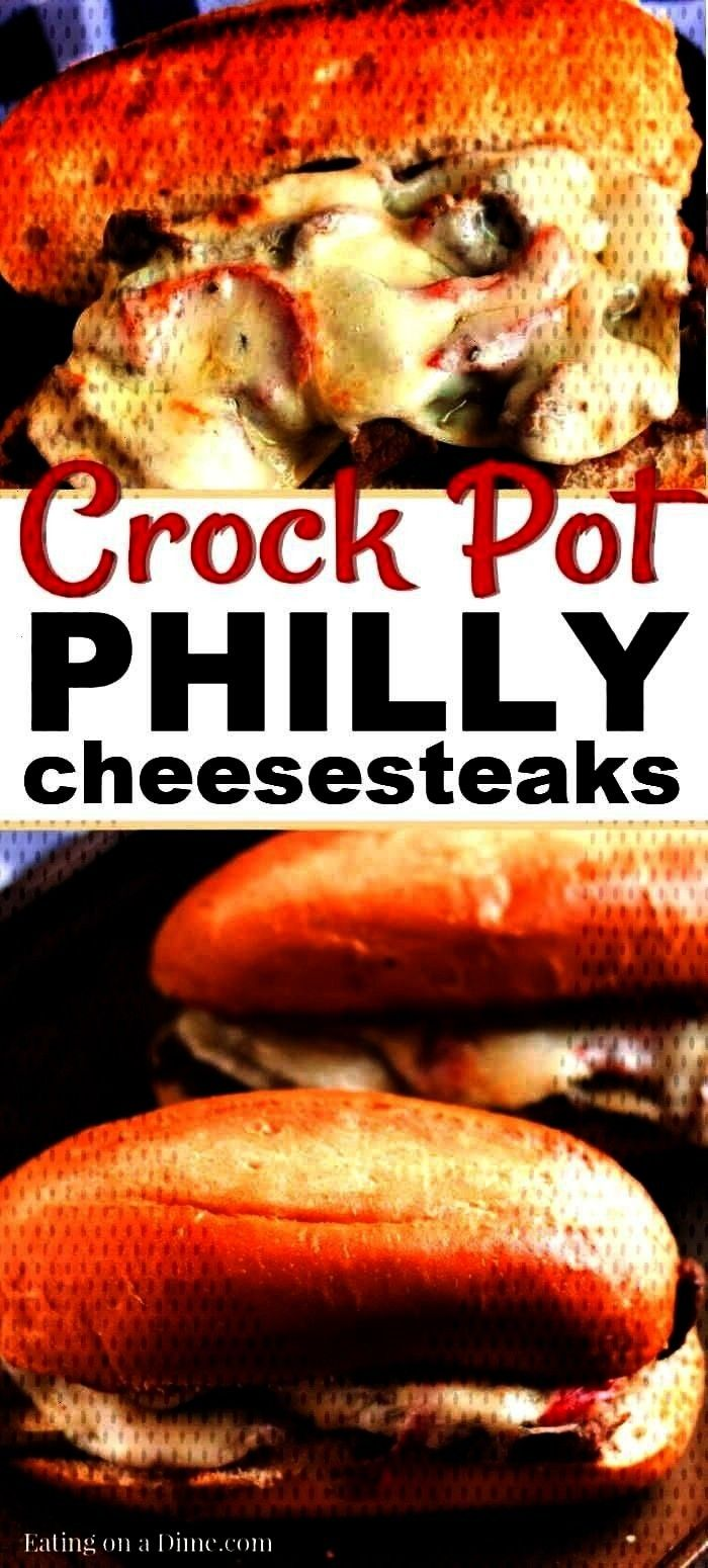 Cheesesteaks Sandwiches -  Enjoy a yummy Philly Cheese Steak with little effort when youpot Philly