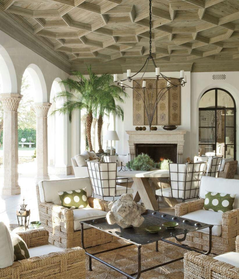 Outdoor Living Room Design: Veranda Magazine