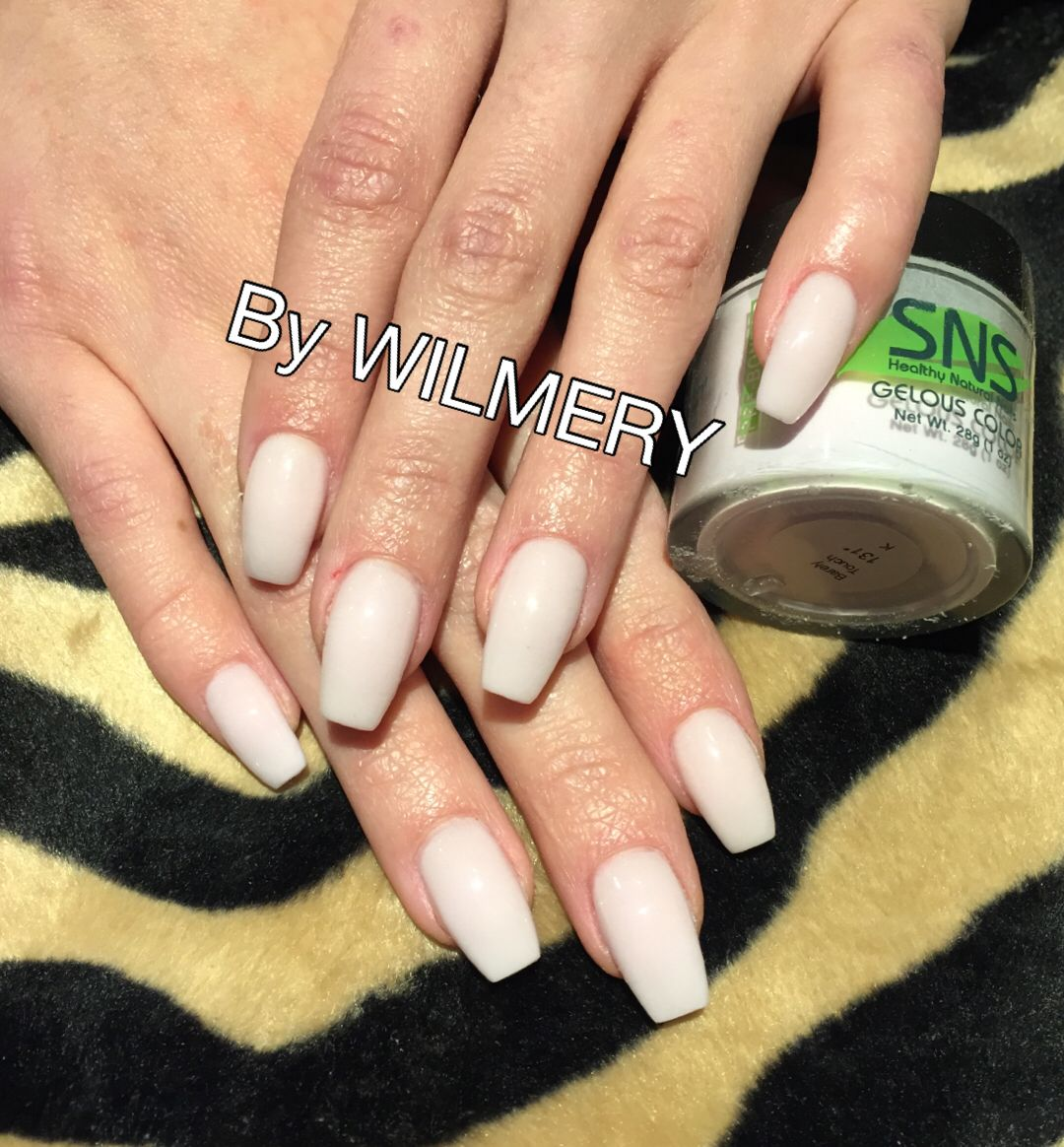 Pin by tamika parker on nails | Pinterest | Sns nails, Angel nails ...