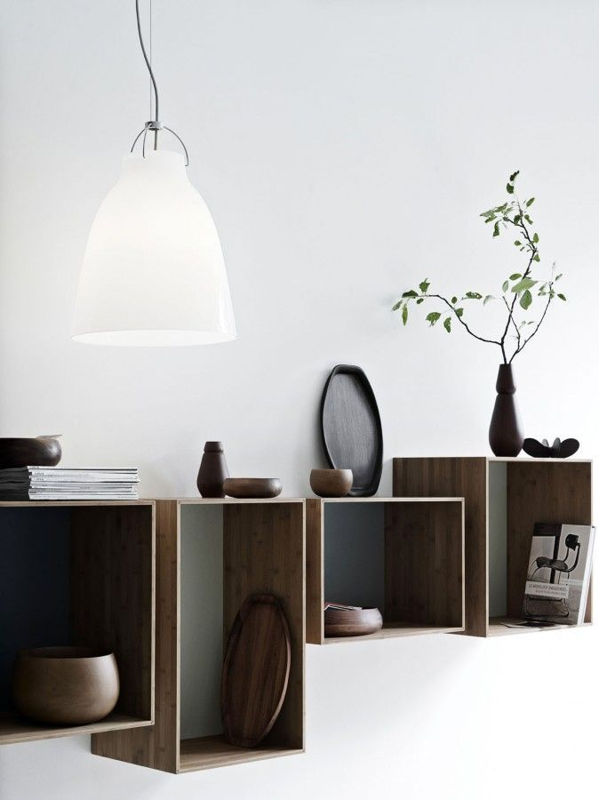 Wall Mounted Box Shelves A Trendy Variation On Open