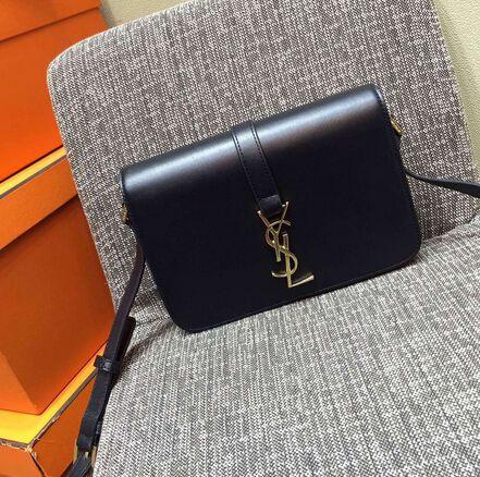 2015 New Saint Laurent Bag Cheap Sale-Saint Laurent Classic Medium Monogram  UNIVERSITE BAG in Black Leather b4c07621f8