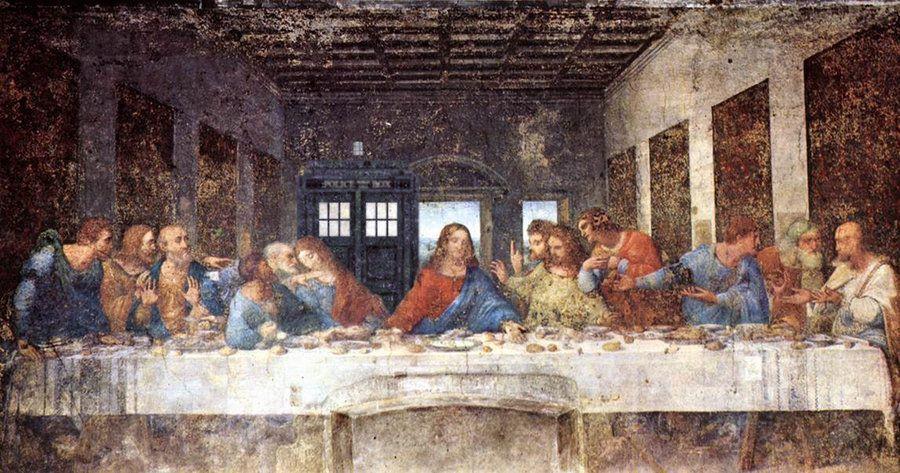 The Last Supper Picturi Creștinism și Mitologie