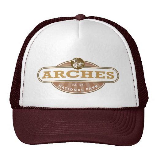 8fec363fc Arches National Park Trucker Hat | Zazzle.com | National Park Gifts ...