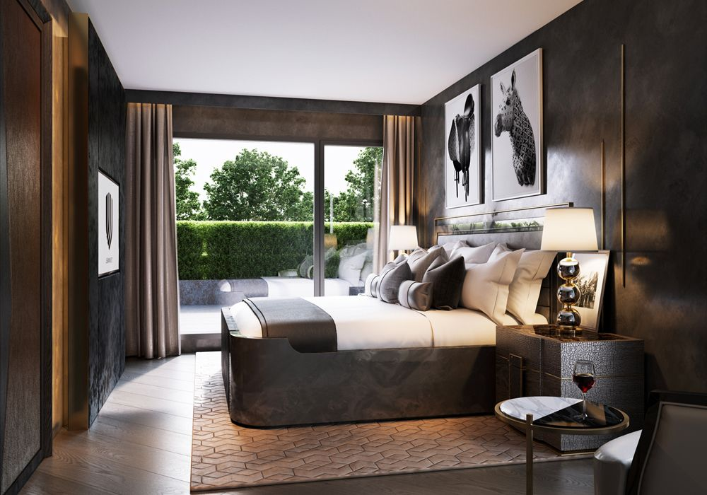 Renders 3d For Master Bedroom Project: Apartment Zurich - Explore Our Apartment Project