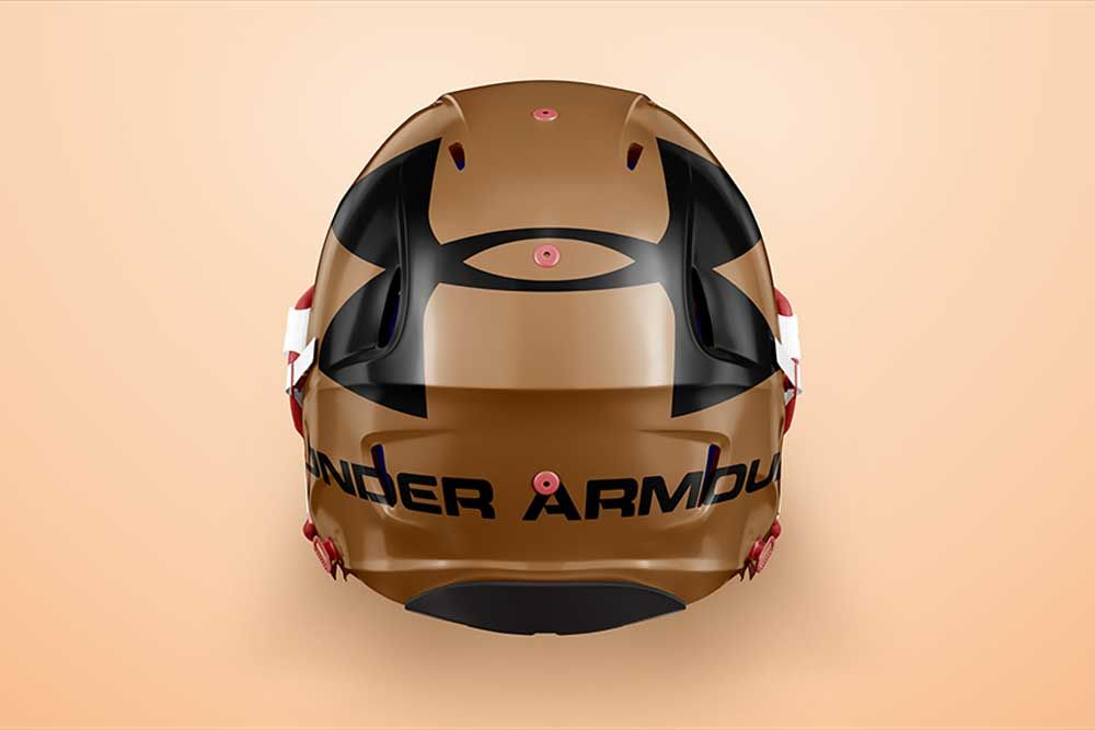 Download This Free Football Helmet Mockup