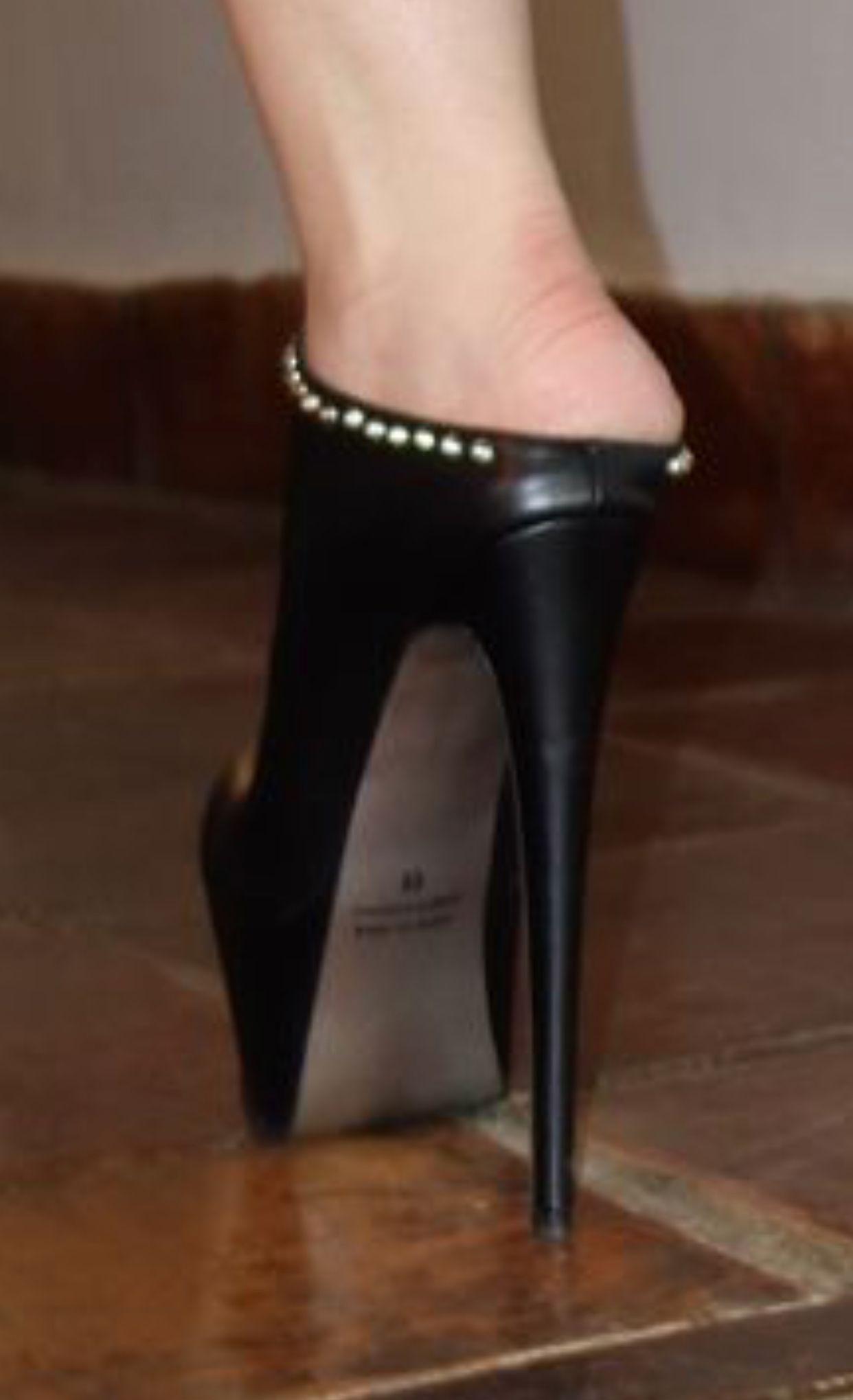 Ankle Boots Gr 40 schwarz black  High Heels