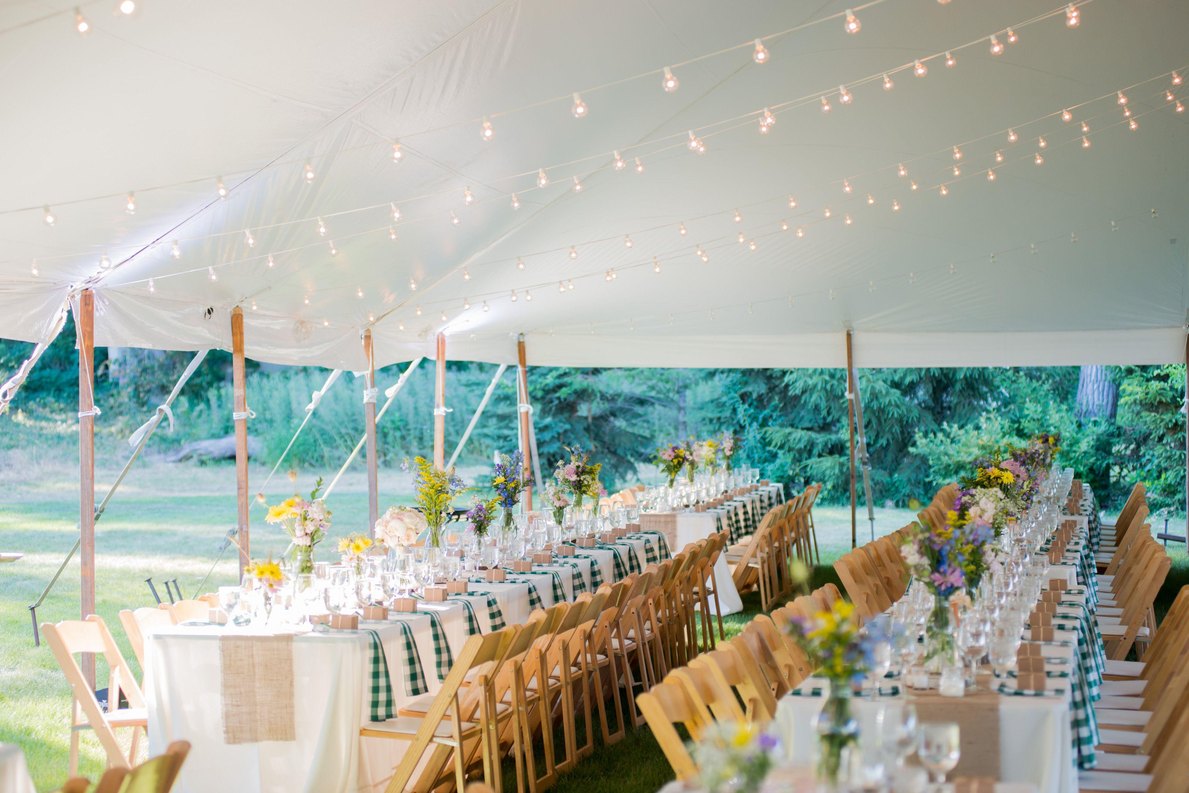 Lakeside Bbq Wedding Wedding Reception Ideasdecor Pinterest