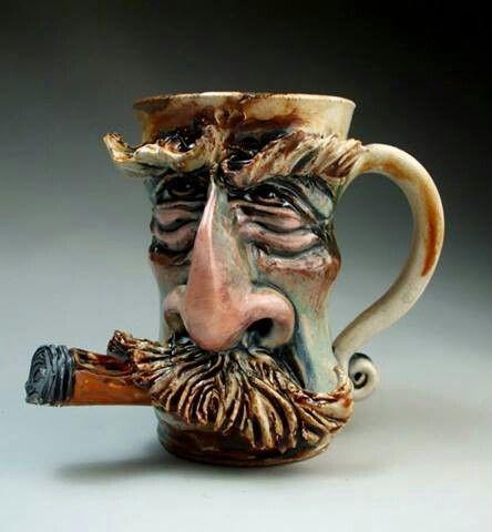 Mitchell Grafton Pottery Mug Avec Images Street Art Art
