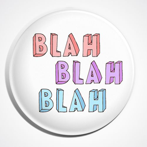 Blah Blah Blah Pastel Goth Soft Grunge Button Pin Badge. Wallpaper BackgroundsPhone BackgroundsIphone ...