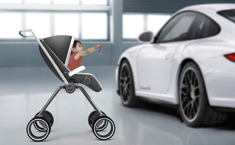 The Porsche Design Pu00274911 Baby Stroller by Swedish designer Dawid - das ergebnis von doodle ein innovatives ledersofa design