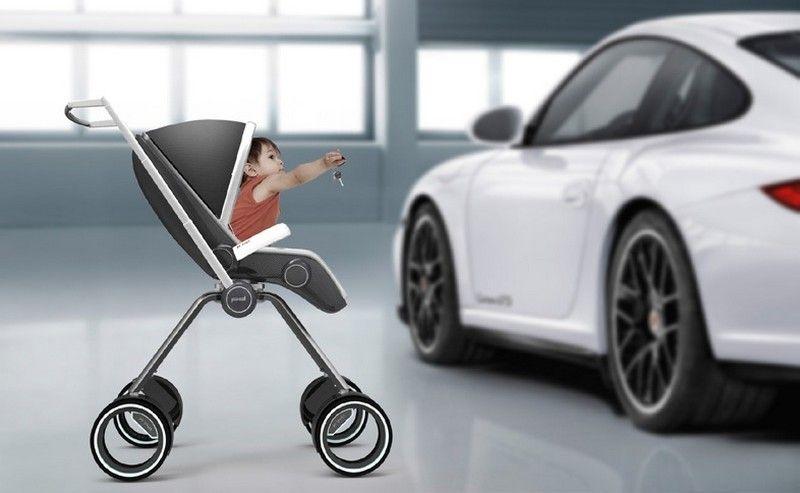 The Porsche Design Pu00274911 Baby Stroller by Swedish designer Dawid - das ergebnis von doodle ein innovatives ledersofa design