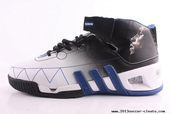 classic shoes order online innovative design Adidas shoes Kevin Garnett VI Basketball shoes Black White Blue ...