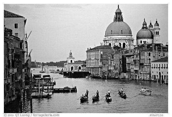 Black And White Prints Of Venice