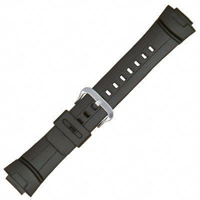 Casio Genuine Replacement Strap for G Shock Watch - Casio G-Shock Black Diver Watch Band Genuine Factory Casio replacement watch band model 10001449 diver strap fits these Casio models: G-100 · G-101 · G200 G-2110 · G-2300 G-2310 · G-2400-- http://newtimepieces.com/casio-genuine-replacement-strap-for-g-shock-watch/ -