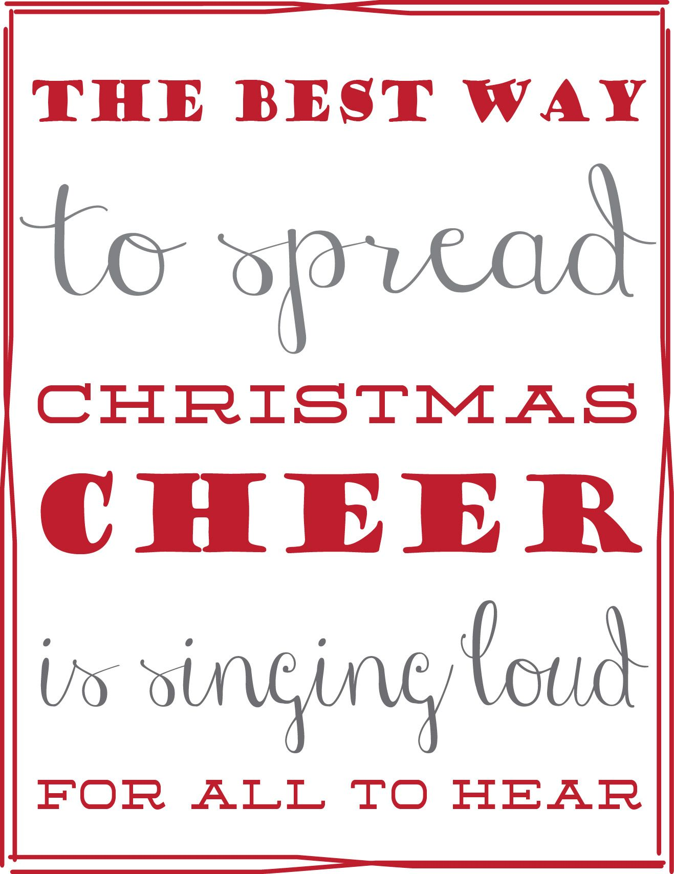 Free Printable 5x7 Elf Quote Elf quotes, Christmas movie
