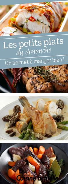 Les bons petits plats du dimanche | Idée repas midi, Couscous recette traditionnelle, Plat