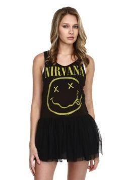 e81e0d342 Nirvana Smile Tutu Tank Dress | for jamie | Tank dress, Dresses, Fashion