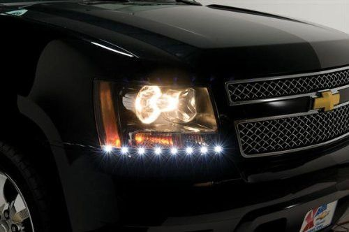 07 14 Avalanche Suburban Tahoe Super Slim Led Dayliner Chevy Colors And Led
