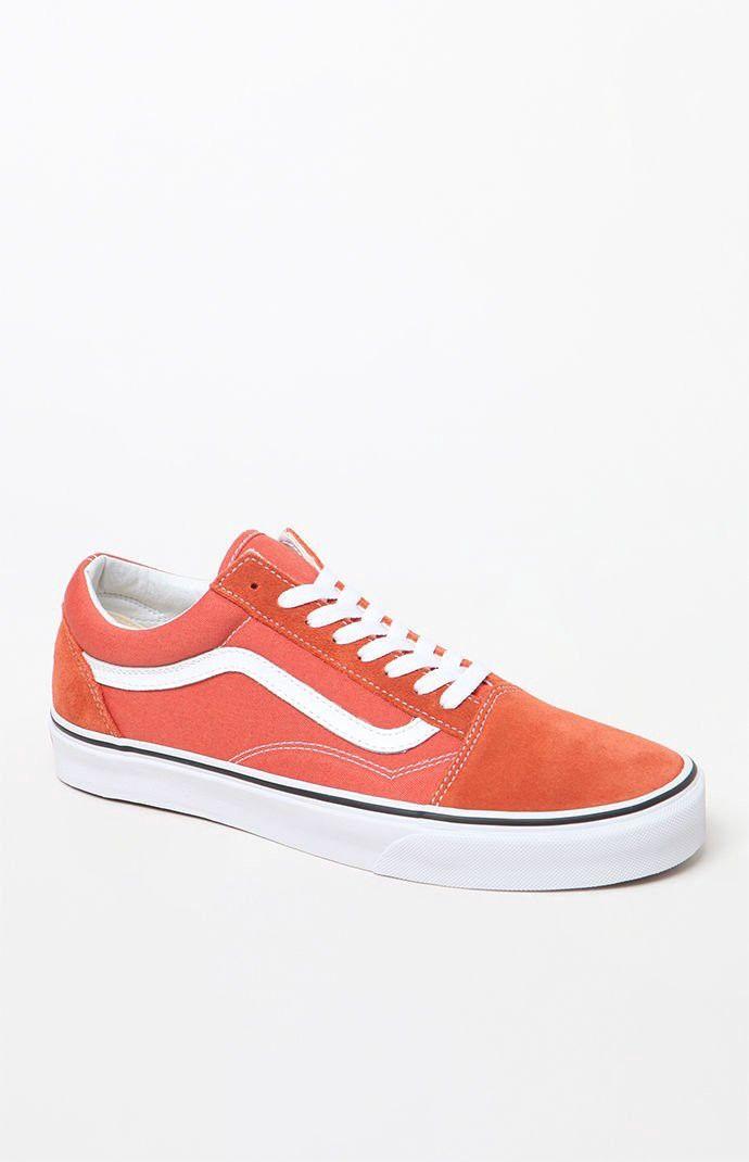 dcf36f4e1c532e Vans Old Skool Rust Shoes - 10.5
