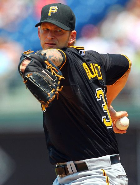 A.J. Burnett Photo - Pittsburgh Pirates v Philadelphia Phillies