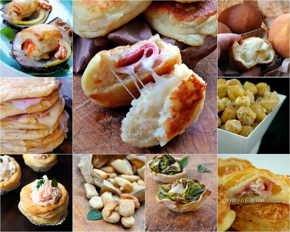 Antipasti per capodanno stuzzichini finger food | Stuzzichini ...