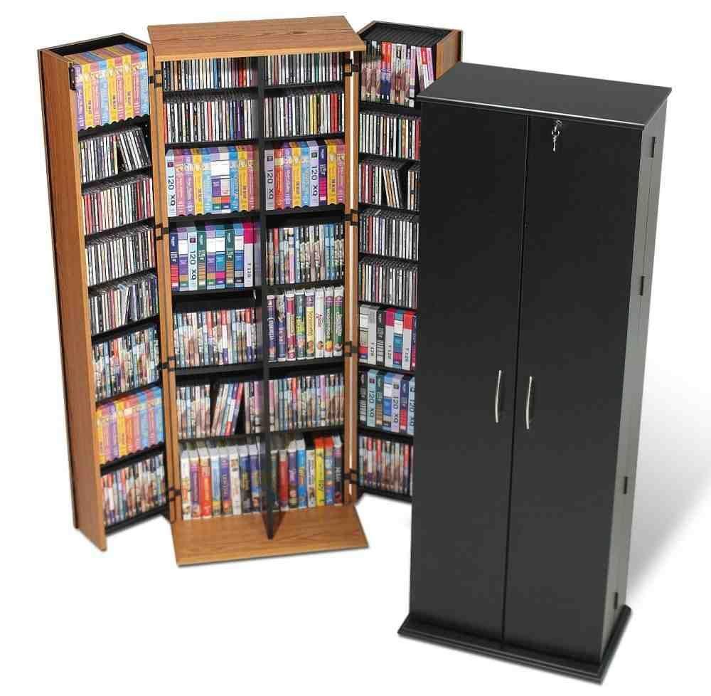 Superbe Locking Media Storage Cabinet