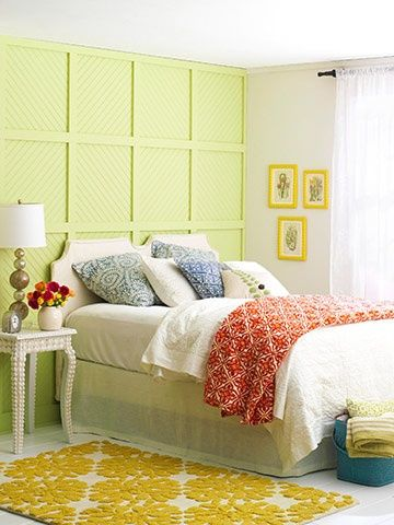 Beaded-Board Backdrop...maybe a feature wall in Noahs room?? | Home ...