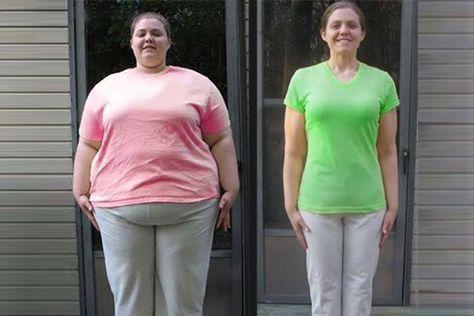 Gewichtsverlust vor nach dem Wachsen