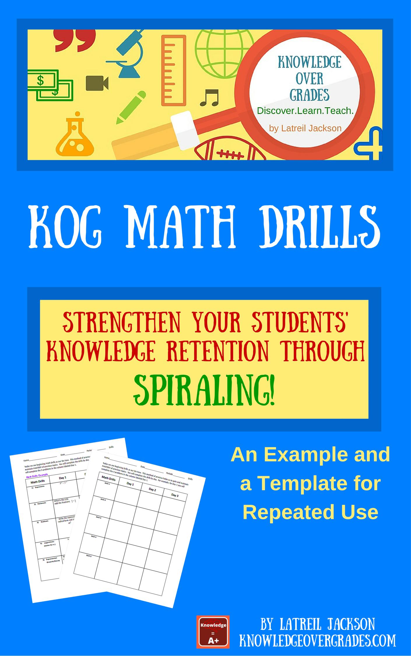 Magnificent Daily Math Drills Motif - Worksheet Math for Homework ...