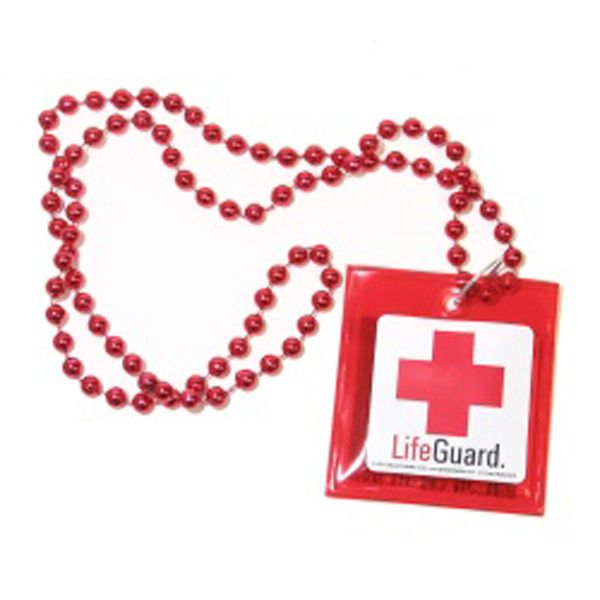 The necklace every lifeguard should never leave home without.   24 Weird Gifts For People Who Love Condoms