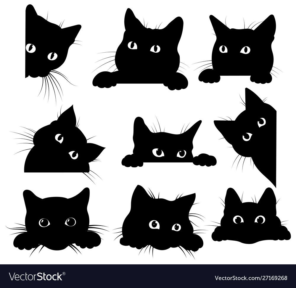 15+ Black Animal Ears Clipart