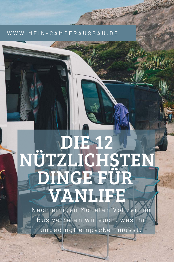12 most useful things for Vanlife,  #vanleben #Vanlife