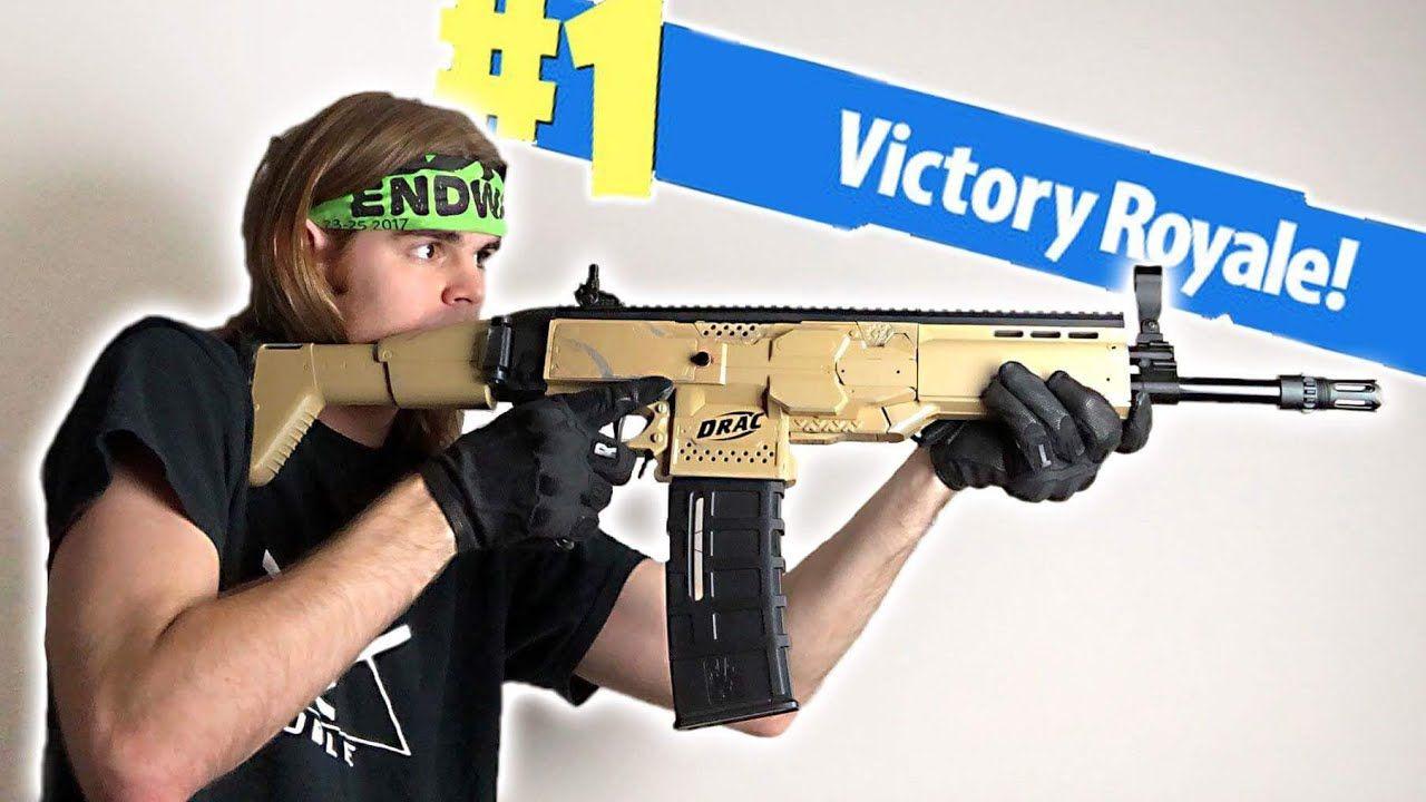 Nerf Mod Fortnite Battle Royale Scar Nerf Gun Mod In Real Life