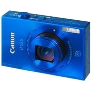 CANON IXUS 500 HS(Blue) (10.1 MP HS CMOS, 12X Optical Zoom, 7.5cms LCD Screen Full HD. )