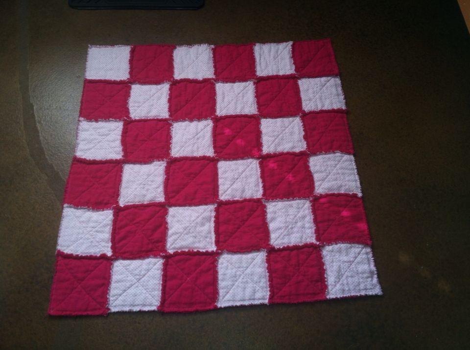 Little rag quilt I made