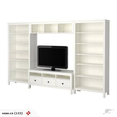 IKEA   HEMNES TV Storage Combination   Trade Me   If This Came In Black Oh  In Our Bar/library Downstairs.