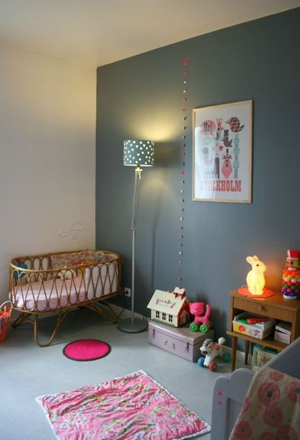 1000 images about chambre bb on pinterest - Chambre Vintage Petite Fille