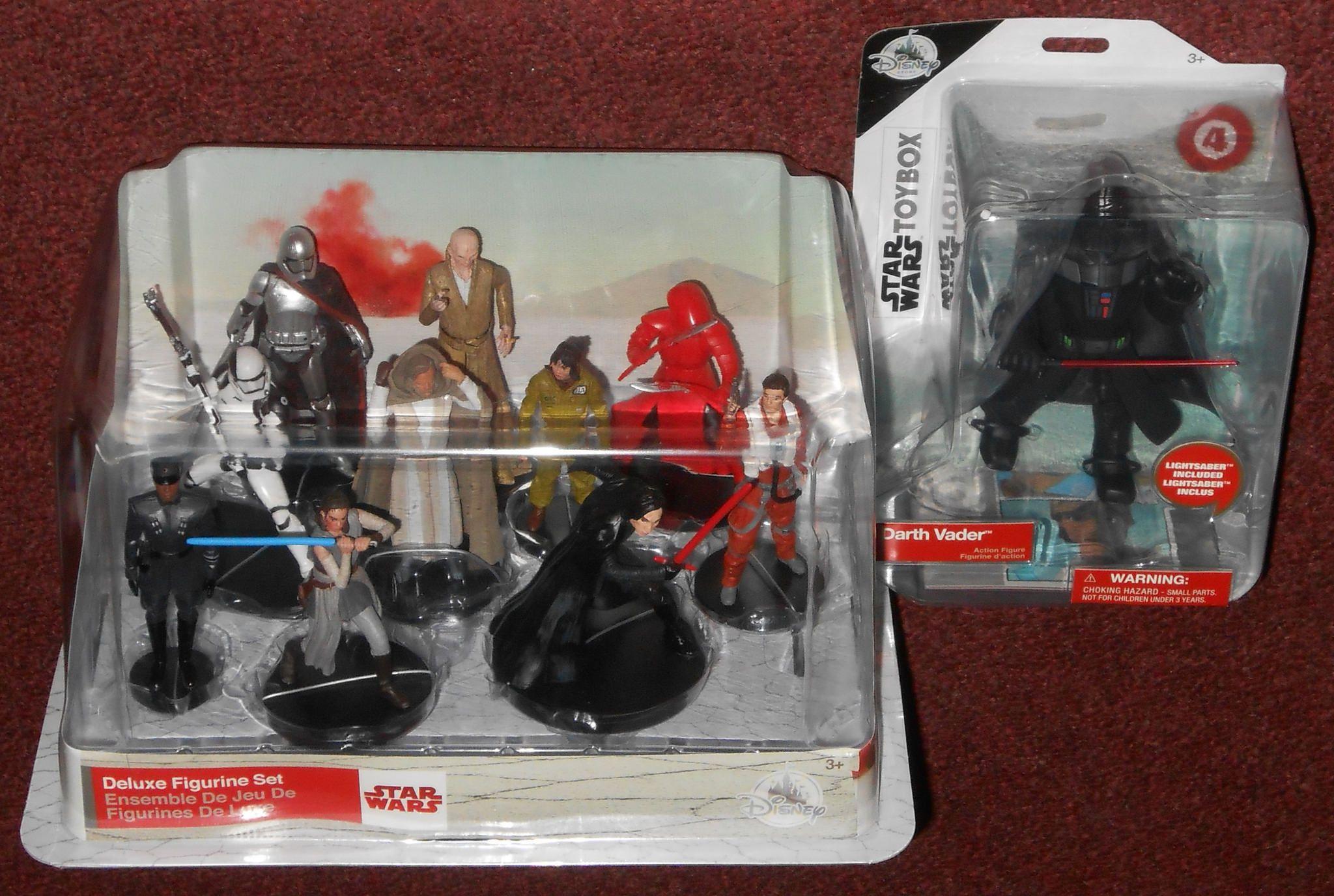 Star Wars The Last Jedi Figurine Set