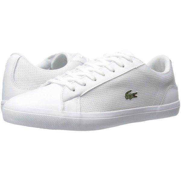 Lacoste Lerond 116 1 White Men S Shoes Mens Casual Leather Shoes White Shoes Men White Sneakers Men